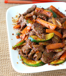 korean beef stir fry recipe