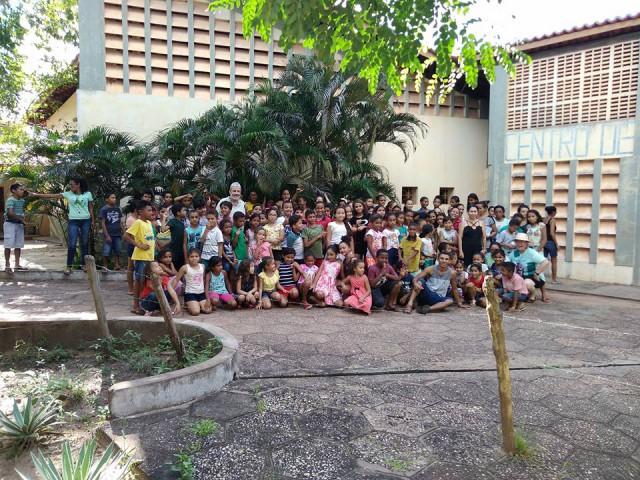 Paróquia São Raimundo - Codó, realiza encontro com crianças sobre a CF 2018