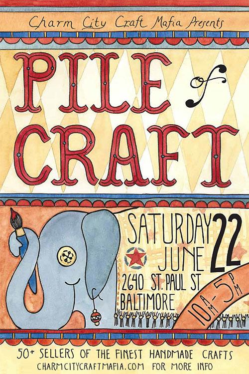 Pile Of Craft Baltimore