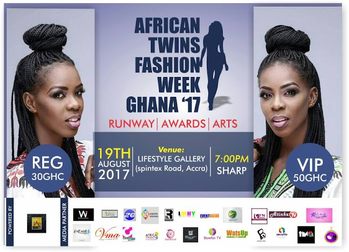 African Twins Fashion Week Ghana set for August 19