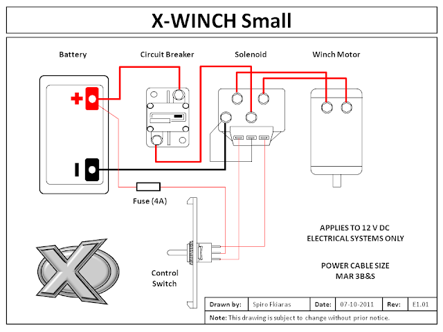 Marine Enhancements Pty. Limited.: X-Winch Small
