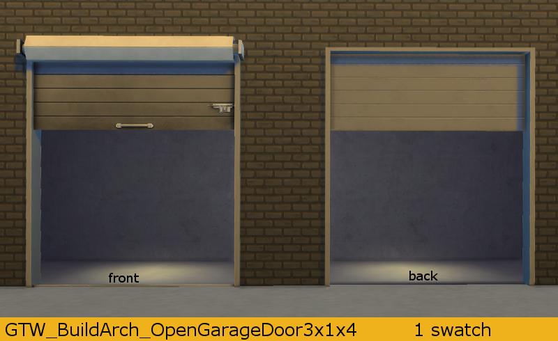 My Sims 4 Blog Open Garage Door By Gatochwegchristel