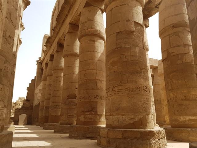 Templo de Karnak y templo de Lxor visita a la antigua Tebas  Medio Penique