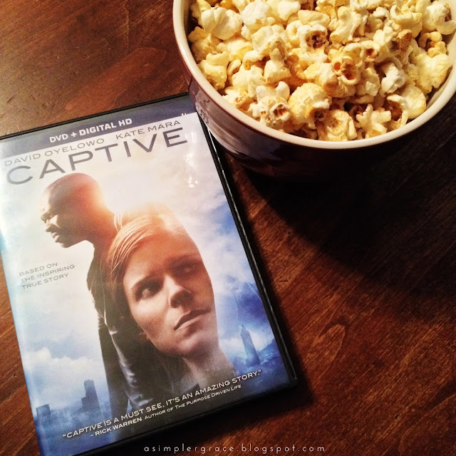 My thoughts on the film Captive and a giveaway of the DVD!