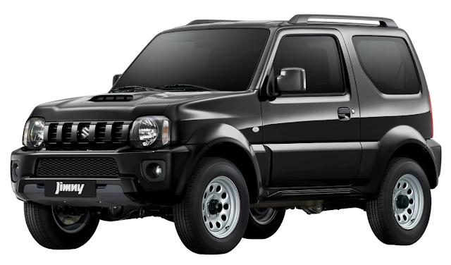 New Suzuki Jimny Bluish Black 3