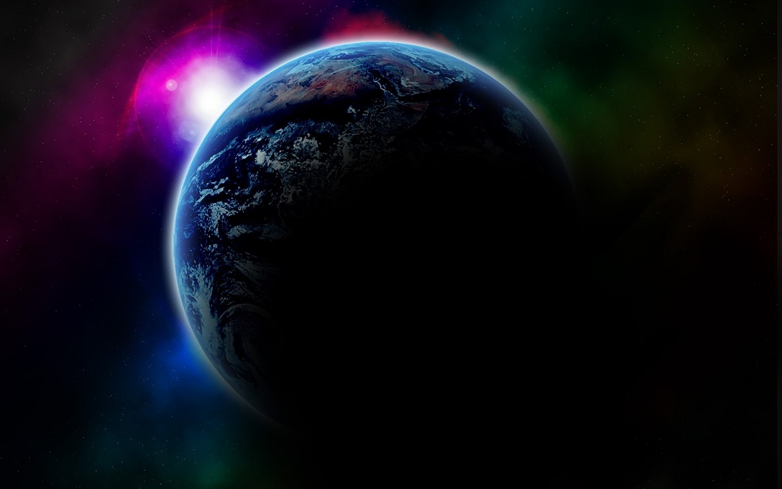Love U Wallpapers: 3d space background