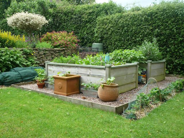 Wooden Raised Beds no bending vegetable gardening