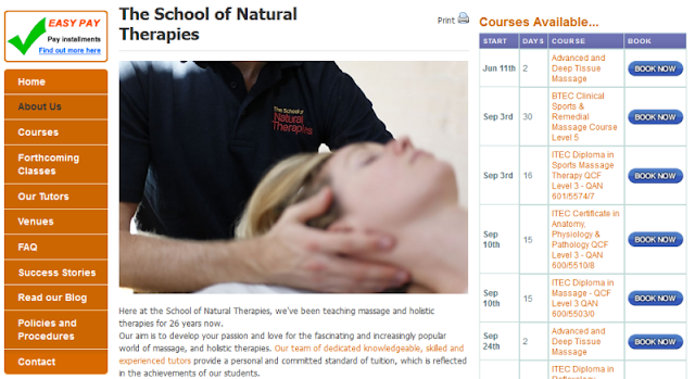 trusted provider of massage therapy courses