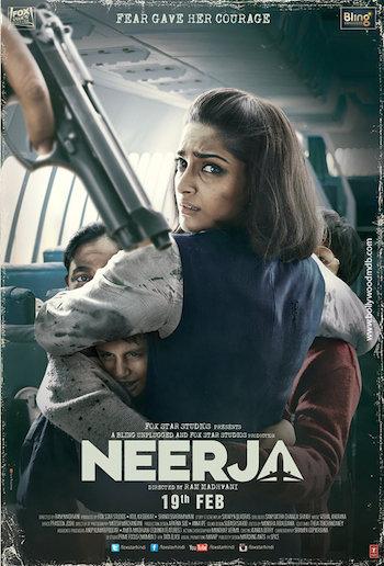 Neerja 2016 Hindi 480p DVDRip 300mb