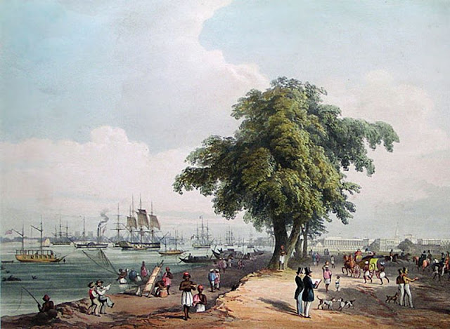 Port of Calcutta, 1848