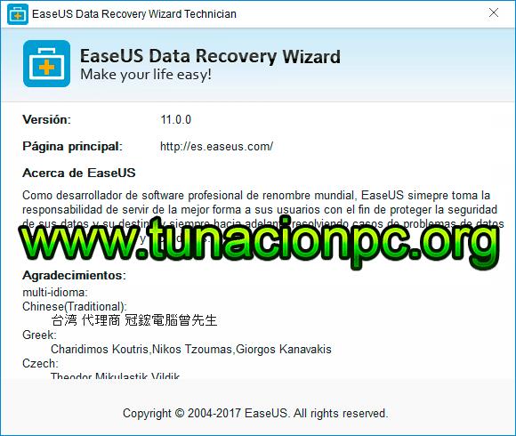 EASEUS Data Recovery Wizard Imagen