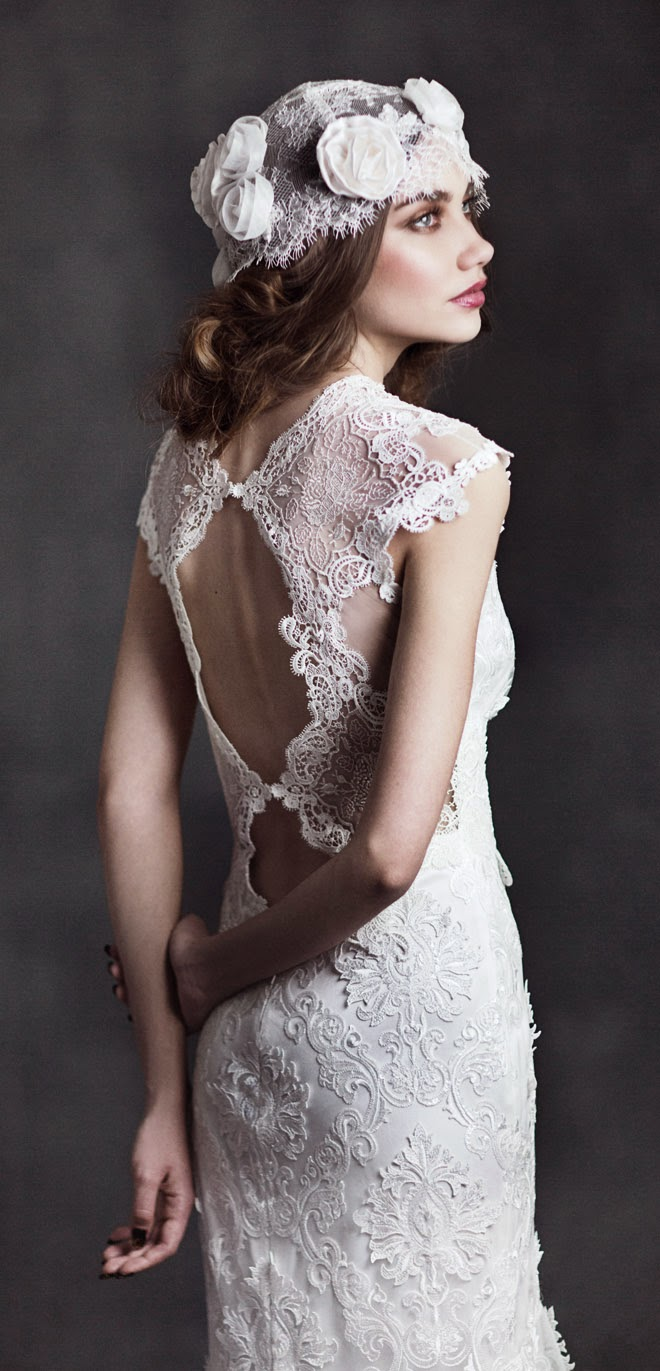 Claire Pettibone 2017 Bridal Collection Gothic Angel Belle The Magazine