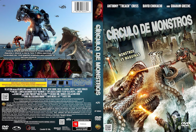 Capa DVD Círculo De Monstros