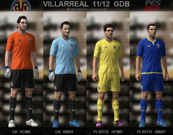 Villarreal 11/12 Kit Set by Txak