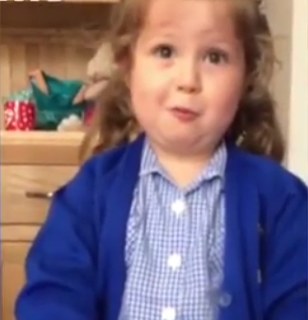 Hilarious video shows a sister's reaction to the news she's having a baby brother