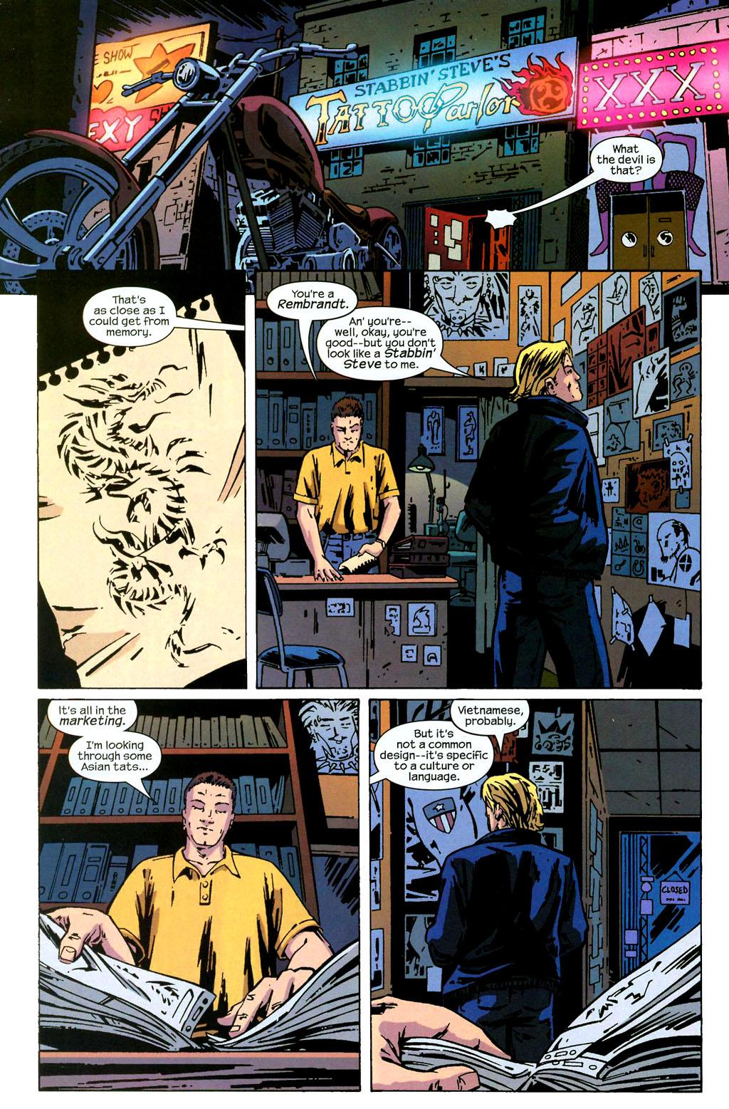 Hawkeye (2003) Issue #2 #2 - English 21