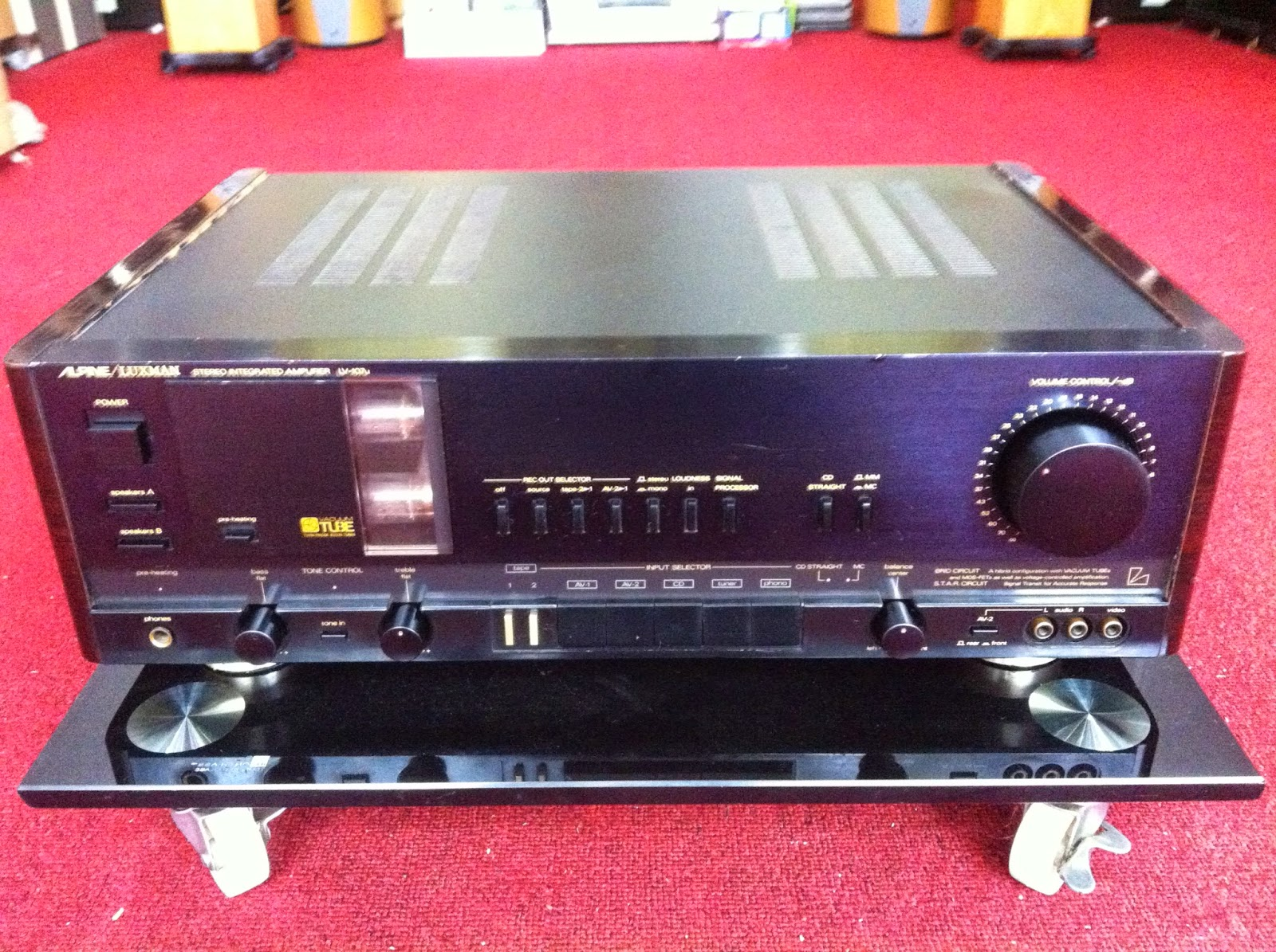 Amply - Luxman 107U - Made in Japan