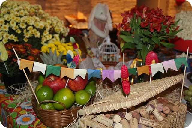Decoração de Festa Caipira - Junina : Bandeirolas
