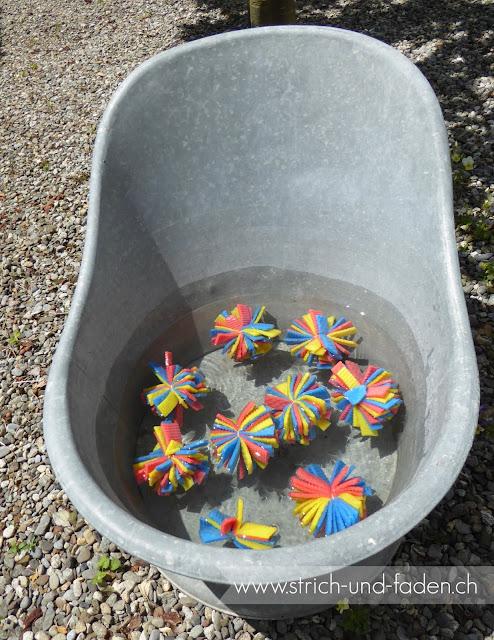 mit Strich und Faden: Wasserkugeln DIY