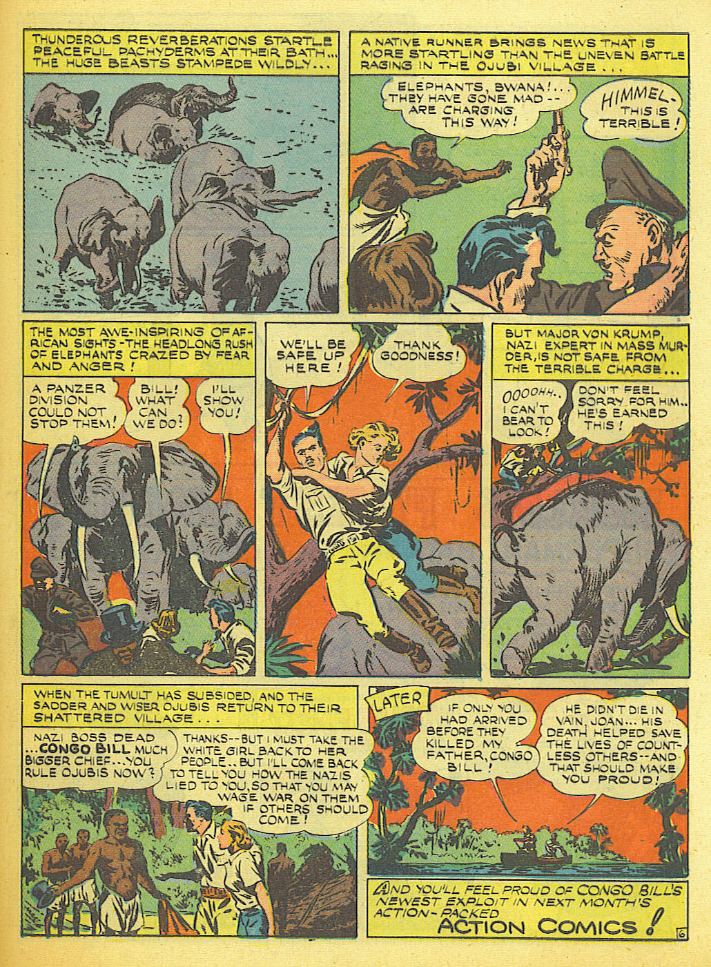 Read online Action Comics (1938) comic -  Issue #58 - 46