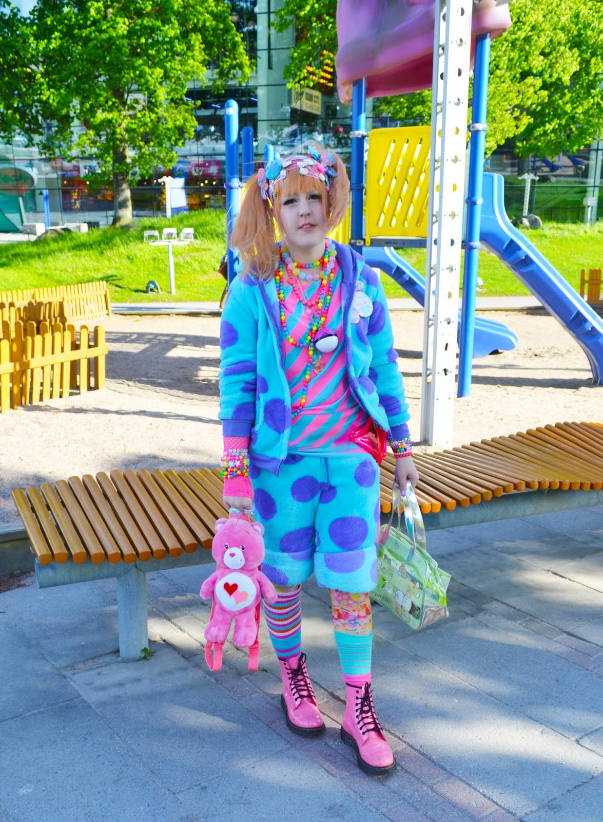 Decora Japan Mintyfrills Outfit Sulley Decora