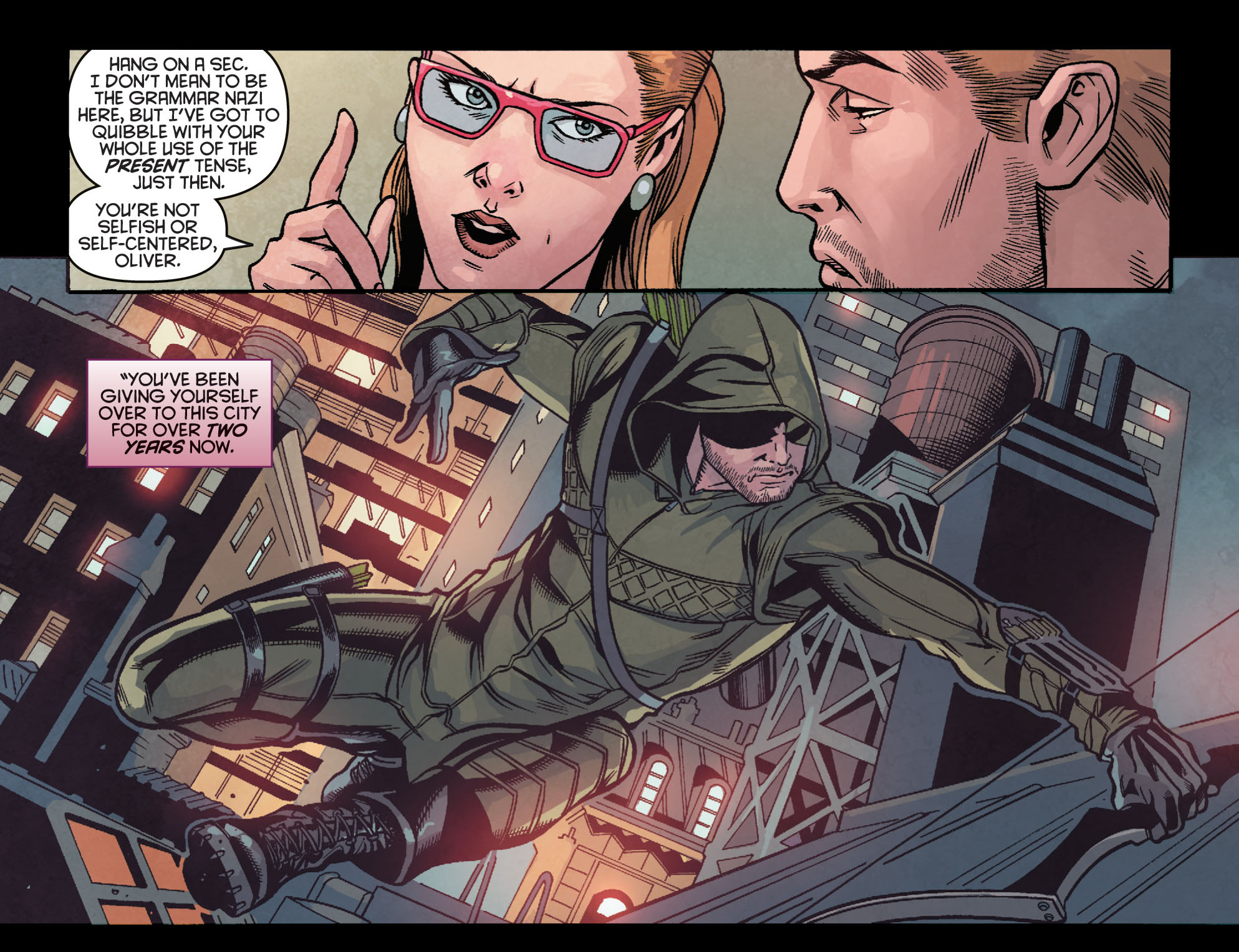 Read online Arrow: Season 2.5 [I] comic -  Issue #23 - 15