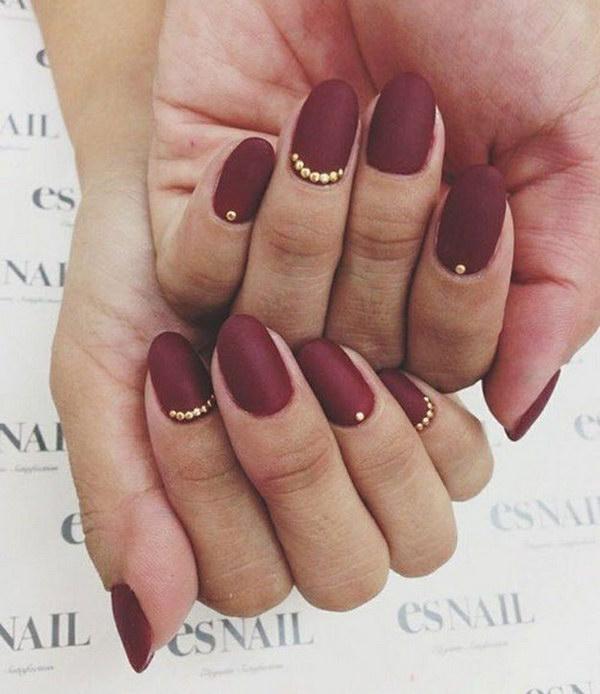 50 Pretty Matte Nail Designs - Pccala