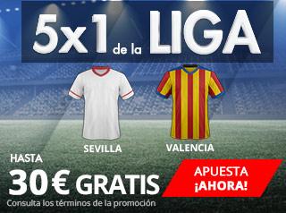 suertia promocion 30 euros Sevilla vs Valencia 10 marzo