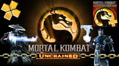 Mortal Kombat Unchained PPSSPP ISO/CSO High Compress Terbaru