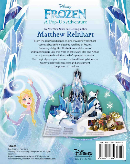 Disney Frozen A Pop-Up Adventure by Matthew Reinhart