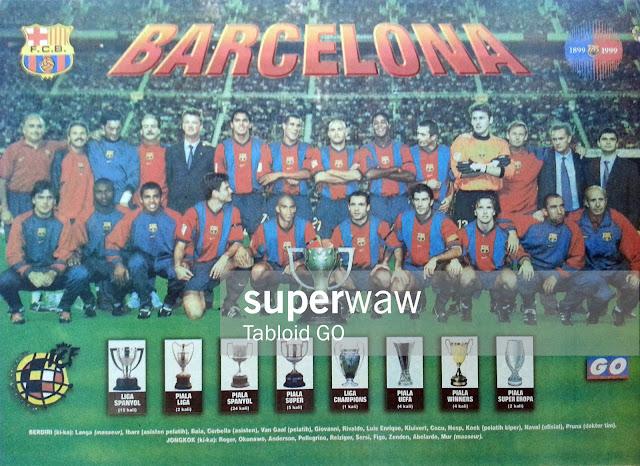 Poster Tim Barcelona 1998