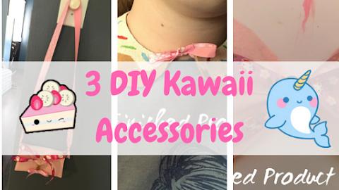 3 DIY Accessories - Kawaii Fridays