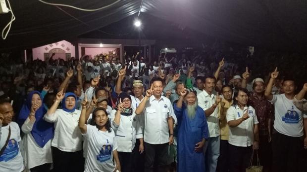 Hasupa Warga Parang Kampeng dan Desa Bayas, H Koyem Janjikan Air Bersih