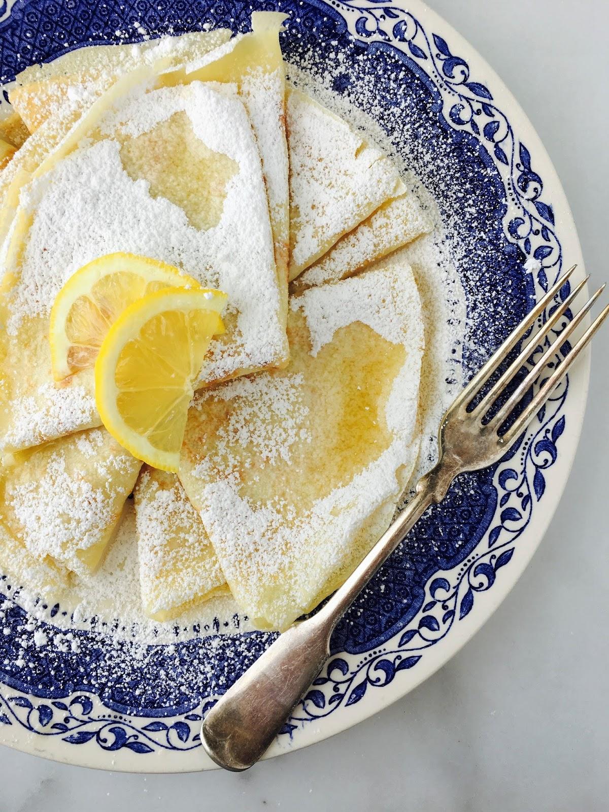 sweetsugarbean: Ushering in Spring: Swedish Pancakes with Lemon