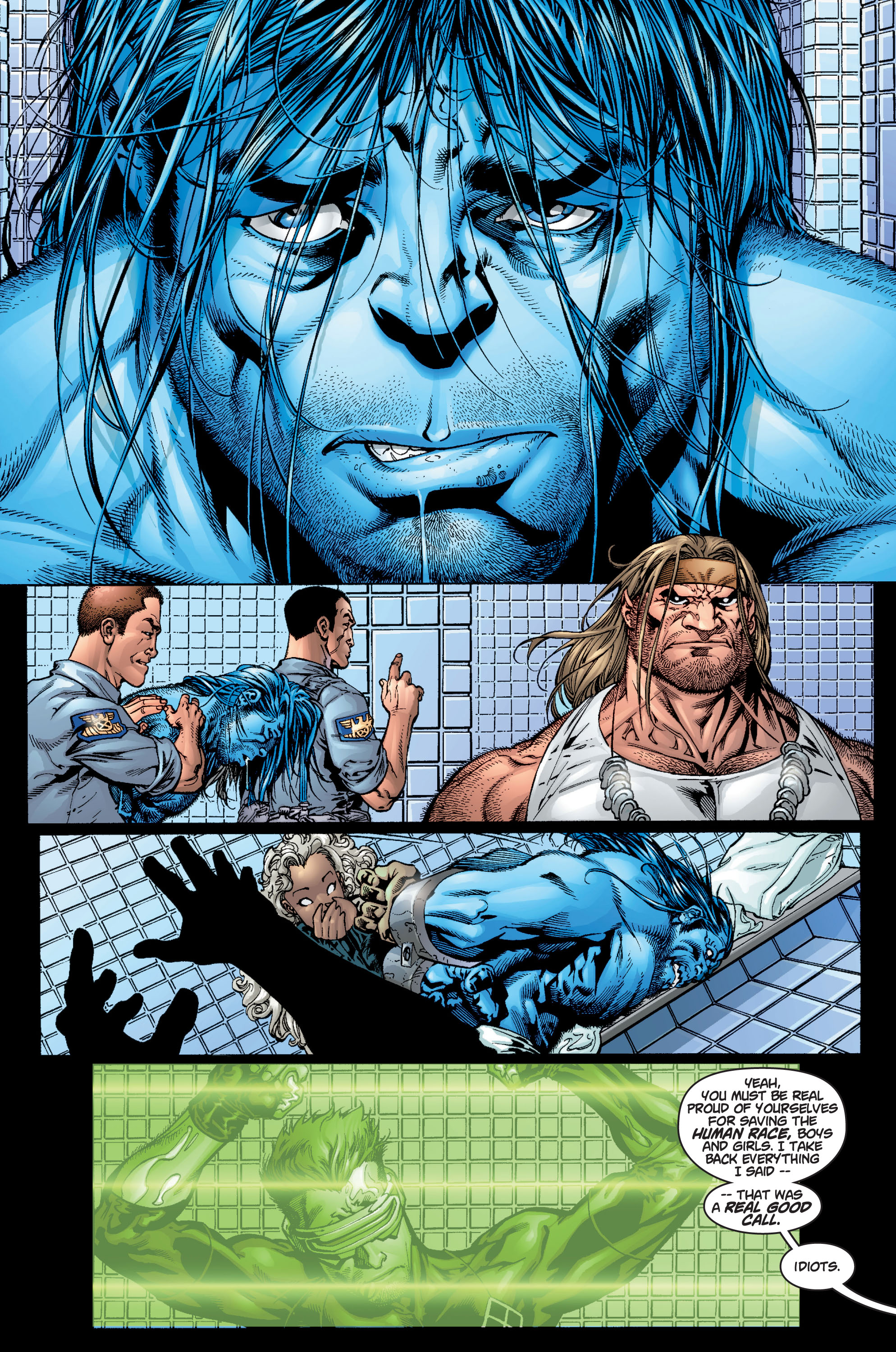 Read online Ultimate X-Men comic -  Issue #9 - 21