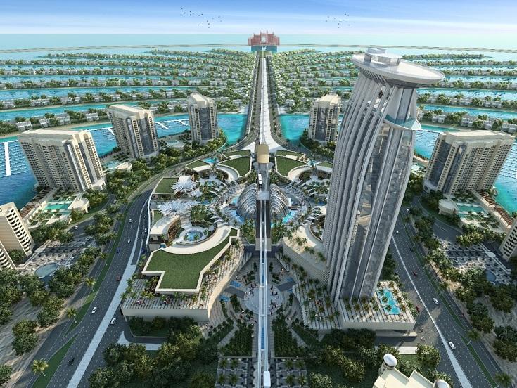 Palm Jumeirah, Pesona Keajaiban Dunia ke-8 di Dubai