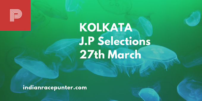 Kolkata Jackpot Selections 27th March