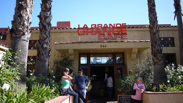 Restaurante La Grande Orange Cafe em Pasadena