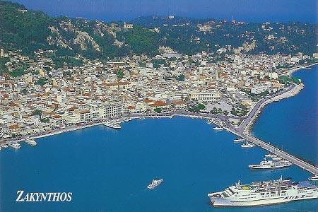 Zákinthos, Ilha Grega