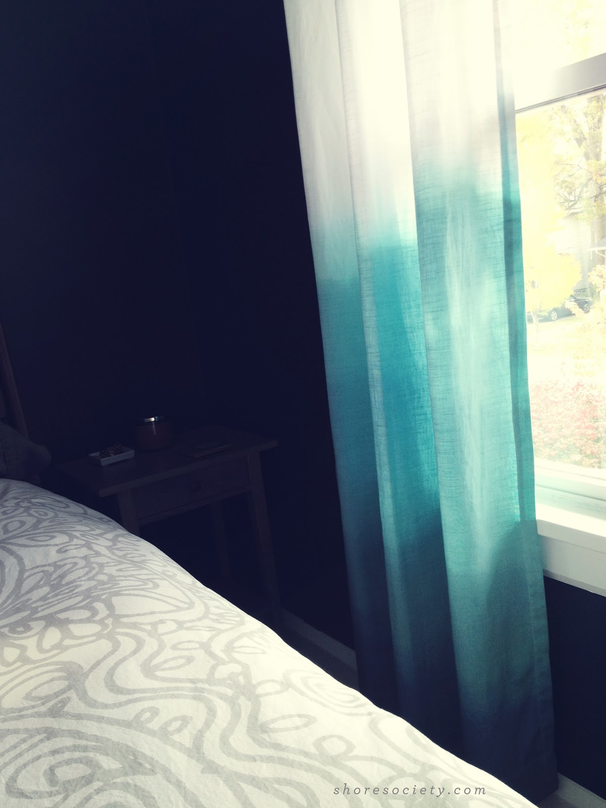 S Society Diy Ombre Curtains