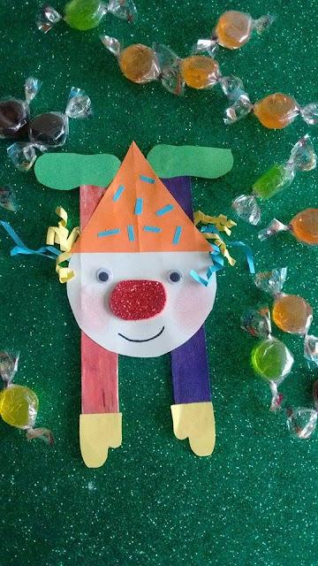 payaso-palo-helado-niños-manualidades