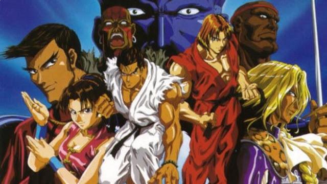 Street Fighter II V - Daftar Anime Martial Arts Terbaik dan Terpopuler