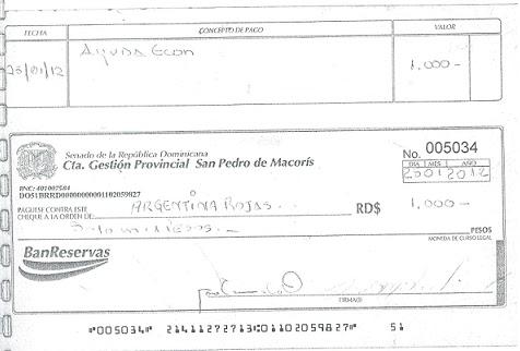 cuatro presos por falsificaci n de cheques de la oficina pol tica del. Black Bedroom Furniture Sets. Home Design Ideas