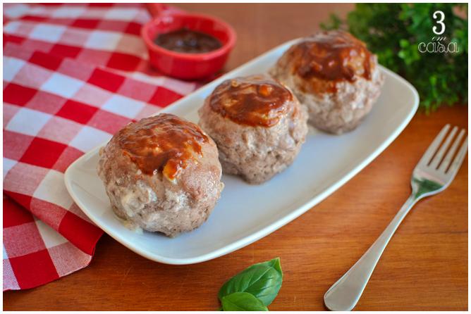 receita muffin carne moída