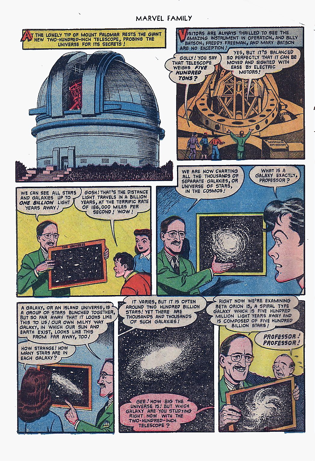The Marvel Family issue 61 - Page 4