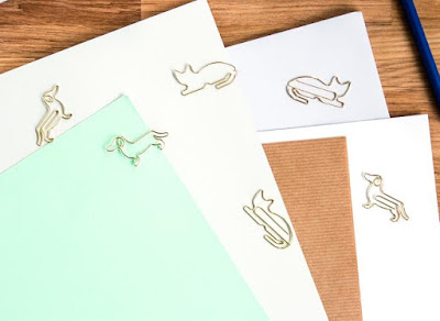 Cat and Dog Paper Clips