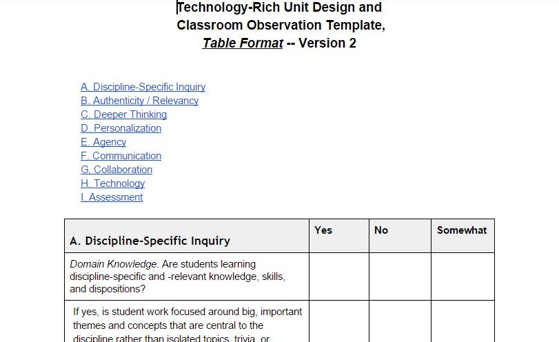 Curriculum Corner Trudacot As Curriculumtechnology