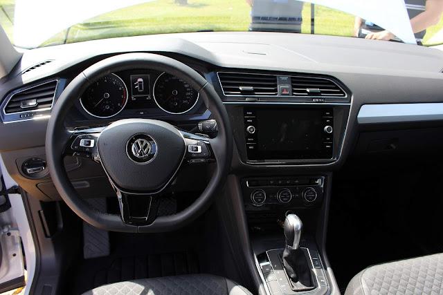 VW Tiguan 250 TSI - interior