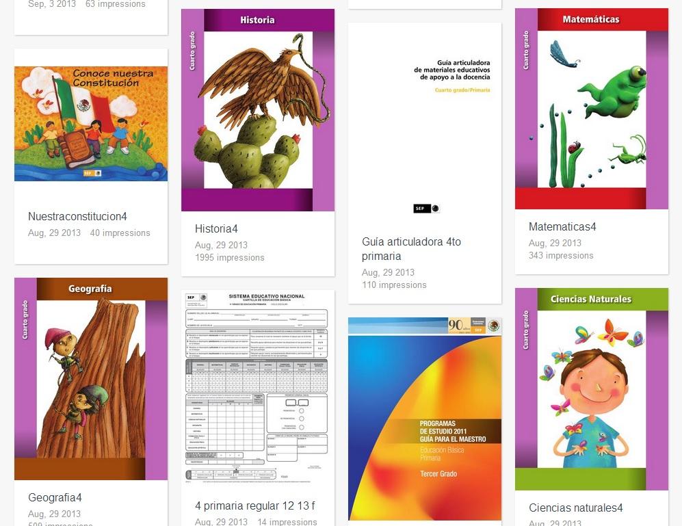 Cuarto grado primaria libros (online) - AlexDuve