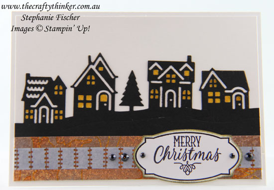 Christmas card, #cardmaking, #stampinup, #xmascard, Hearts Come Home Bundle, Xmas card, #thecraftythinker, Stampin' Up Australia Demonstrator, Stephanie Fischer, Sydney NSW